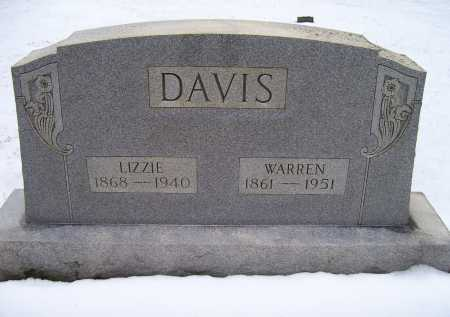 DAVIS, WARREN - Scioto County, Ohio | WARREN DAVIS - Ohio Gravestone Photos