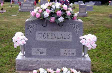 EICHENLAUB, JACOB ALLEN - Scioto County, Ohio | JACOB ALLEN EICHENLAUB - Ohio Gravestone Photos