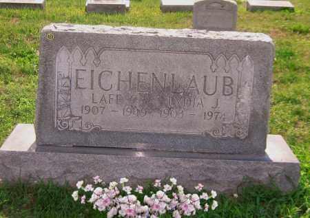 SHEETS EICHENLAUB, LYDIA J - Scioto County, Ohio | LYDIA J SHEETS EICHENLAUB - Ohio Gravestone Photos