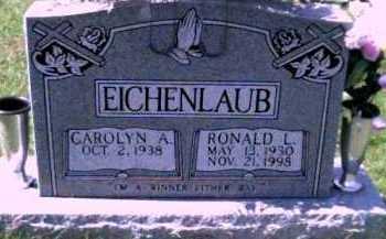EICHENLAUB, RONALD L. - Scioto County, Ohio | RONALD L. EICHENLAUB - Ohio Gravestone Photos