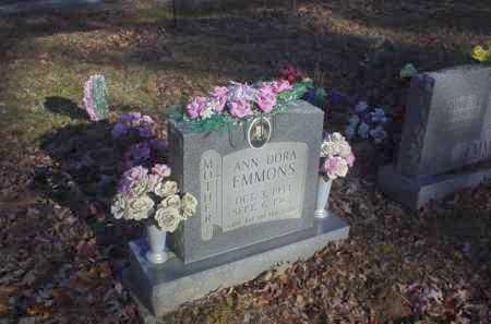 EMMONS, ANN DORA - Scioto County, Ohio   ANN DORA EMMONS - Ohio Gravestone Photos