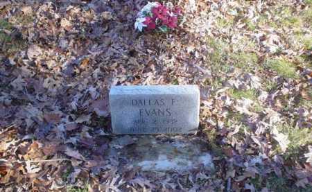 EVANS, DALLAS F. - Scioto County, Ohio | DALLAS F. EVANS - Ohio Gravestone Photos