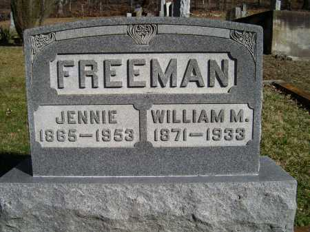 FREEMAN, WILLIAM M. - Scioto County, Ohio | WILLIAM M. FREEMAN - Ohio Gravestone Photos