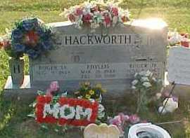 HACKWORTH, ROGER - Scioto County, Ohio | ROGER HACKWORTH - Ohio Gravestone Photos
