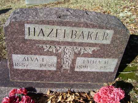 EUTON HAZELBAKER, EMMA M. - Scioto County, Ohio | EMMA M. EUTON HAZELBAKER - Ohio Gravestone Photos