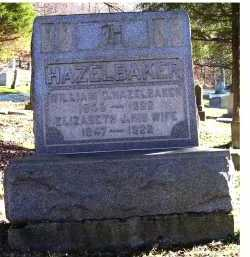 THOMPSON HAZELBAKER, ELIZABETH J. - Scioto County, Ohio | ELIZABETH J. THOMPSON HAZELBAKER - Ohio Gravestone Photos