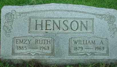 HENSON, EMZY RUTH - Scioto County, Ohio | EMZY RUTH HENSON - Ohio Gravestone Photos