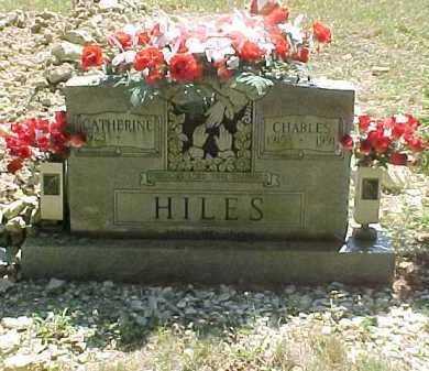 HILES, CHARLES - Scioto County, Ohio   CHARLES HILES - Ohio Gravestone Photos