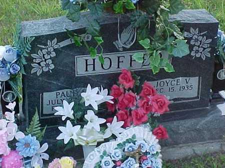 HOFFER, JOYCE V. - Scioto County, Ohio   JOYCE V. HOFFER - Ohio Gravestone Photos
