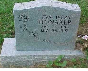 HONAKER, EVA - Scioto County, Ohio | EVA HONAKER - Ohio Gravestone Photos