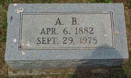 JONES, A. B. - Scioto County, Ohio   A. B. JONES - Ohio Gravestone Photos