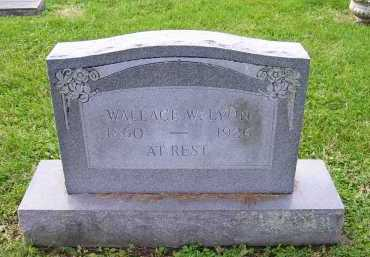 LYON, WALLACE W. - Scioto County, Ohio   WALLACE W. LYON - Ohio Gravestone Photos