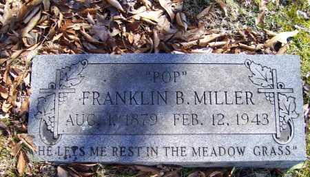 MILLER, FRANKLIN B. - Scioto County, Ohio | FRANKLIN B. MILLER - Ohio Gravestone Photos
