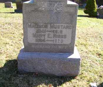 MUSTARD, MADISON - Scioto County, Ohio | MADISON MUSTARD - Ohio Gravestone Photos