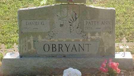 O'BRYANT, PATTY ANN - Scioto County, Ohio | PATTY ANN O'BRYANT - Ohio Gravestone Photos