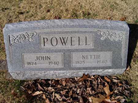 POWELL, NETTIE - Scioto County, Ohio | NETTIE POWELL - Ohio Gravestone Photos
