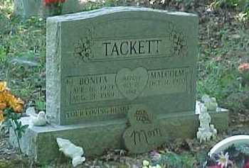 TACKETT, BONITA - Scioto County, Ohio | BONITA TACKETT - Ohio Gravestone Photos