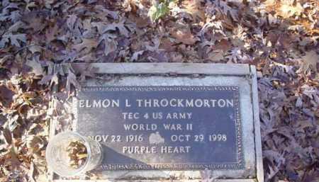 THROCKMORTON, ELMON L. - Scioto County, Ohio | ELMON L. THROCKMORTON - Ohio Gravestone Photos