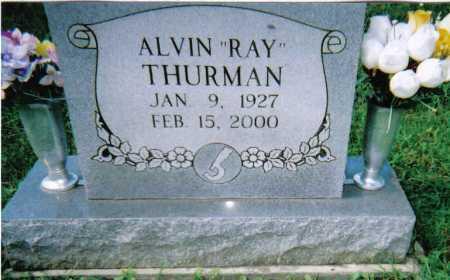 THURMAN, ALVIN RAY - Scioto County, Ohio   ALVIN RAY THURMAN - Ohio Gravestone Photos