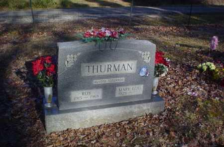 THURMAN, MARY LOU - Scioto County, Ohio   MARY LOU THURMAN - Ohio Gravestone Photos