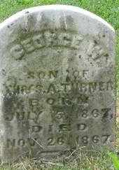 TURNER, GEORGE W. - Scioto County, Ohio   GEORGE W. TURNER - Ohio Gravestone Photos