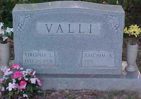 VALLI, VIRGINIA L. - Scioto County, Ohio | VIRGINIA L. VALLI - Ohio Gravestone Photos