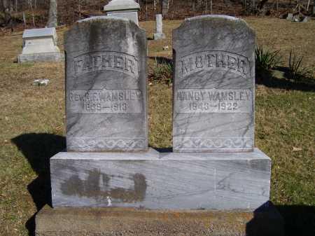 WAMSLEY, NANCY - Scioto County, Ohio | NANCY WAMSLEY - Ohio Gravestone Photos