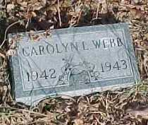 WEBB, CAROLYN L. - Scioto County, Ohio | CAROLYN L. WEBB - Ohio Gravestone Photos