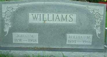 WILLIAMS, BERTHA M. - Scioto County, Ohio   BERTHA M. WILLIAMS - Ohio Gravestone Photos