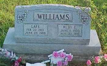 WILLIAMS, RUBY E. - Scioto County, Ohio | RUBY E. WILLIAMS - Ohio Gravestone Photos