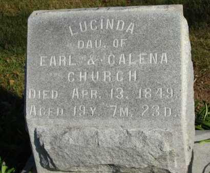 CHURCH, CALENA - Seneca County, Ohio | CALENA CHURCH - Ohio Gravestone Photos