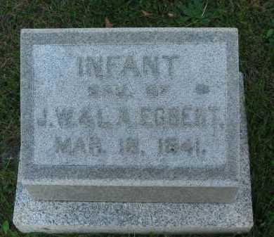 EGBERT, INFANT - Seneca County, Ohio | INFANT EGBERT - Ohio Gravestone Photos
