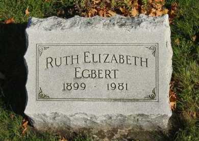 EGBERT, RUTH ELIZABETH - Seneca County, Ohio   RUTH ELIZABETH EGBERT - Ohio Gravestone Photos
