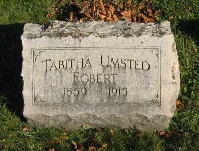 UMSTED EGBERT, TABITHA - Seneca County, Ohio | TABITHA UMSTED EGBERT - Ohio Gravestone Photos