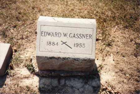 GASSNER, EDWARD - Seneca County, Ohio | EDWARD GASSNER - Ohio Gravestone Photos