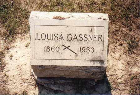 GASSNER, LOUISA - Seneca County, Ohio | LOUISA GASSNER - Ohio Gravestone Photos