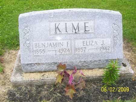 CRAUNBENJAMIN CONTUCTED A FARM, ELIZA - Seneca County, Ohio | ELIZA CRAUNBENJAMIN CONTUCTED A FARM - Ohio Gravestone Photos