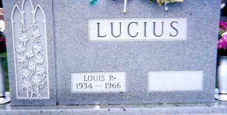 LUCIUS, LOUIS P. - Seneca County, Ohio   LOUIS P. LUCIUS - Ohio Gravestone Photos