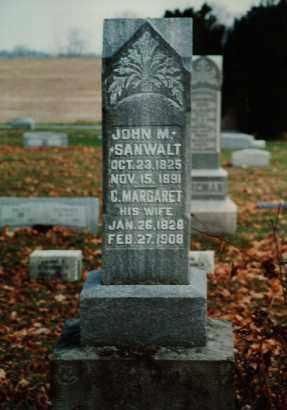 SANWALT, JOHN M - Seneca County, Ohio | JOHN M SANWALT - Ohio Gravestone Photos
