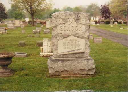 SCHOCK, BLASUS - Seneca County, Ohio   BLASUS SCHOCK - Ohio Gravestone Photos