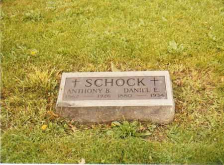 SCHOCK, DANIEL E. - Seneca County, Ohio | DANIEL E. SCHOCK - Ohio Gravestone Photos
