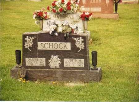 SCHOCK, DANIEL W. - Seneca County, Ohio | DANIEL W. SCHOCK - Ohio Gravestone Photos