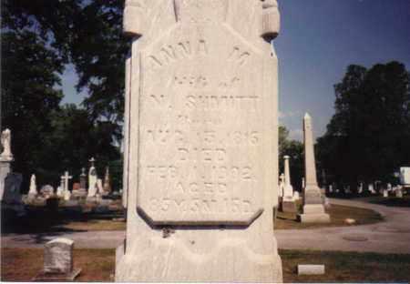 SHMITT, ANNA M. - Seneca County, Ohio | ANNA M. SHMITT - Ohio Gravestone Photos