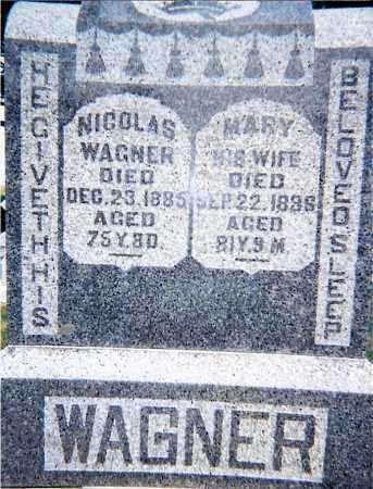 WAGNER, NICHOLAS - Seneca County, Ohio | NICHOLAS WAGNER - Ohio Gravestone Photos