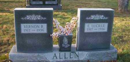 ALLEN, E. LUCILLE - Shelby County, Ohio | E. LUCILLE ALLEN - Ohio Gravestone Photos