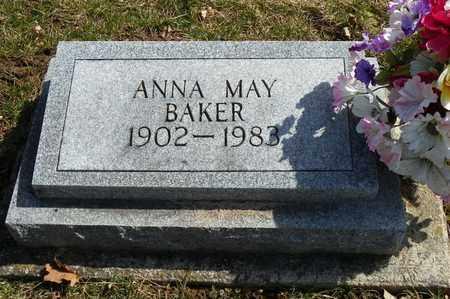 BAKER, ANNA MAY - Shelby County, Ohio   ANNA MAY BAKER - Ohio Gravestone Photos