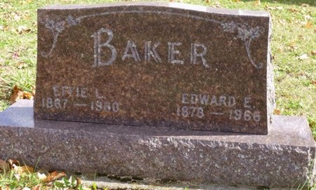 BAKER, ELIAS EDWARD - Shelby County, Ohio | ELIAS EDWARD BAKER - Ohio Gravestone Photos