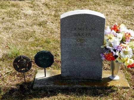 BAKER, JAMES M. - Shelby County, Ohio   JAMES M. BAKER - Ohio Gravestone Photos
