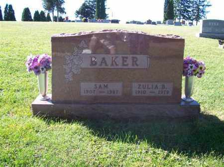 BAKER, SAM - Shelby County, Ohio | SAM BAKER - Ohio Gravestone Photos