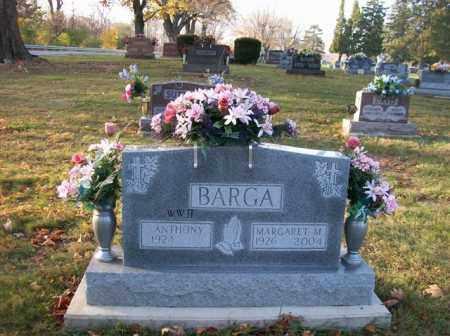 BARGA, MARGARET M. - Shelby County, Ohio   MARGARET M. BARGA - Ohio Gravestone Photos